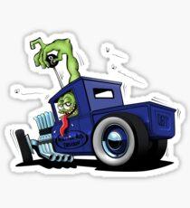 Pegatina Camión Hot Rod