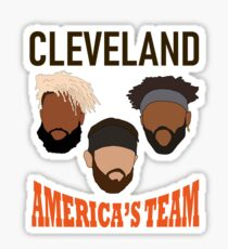 Odell Baker Jarvis Browns Sticker