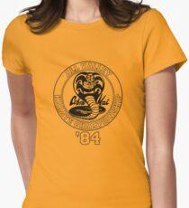 Cobra Kai All Valley Karate Tournament Women's Fitted T-Shirt