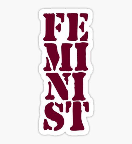 Feminist Glossy Sticker
