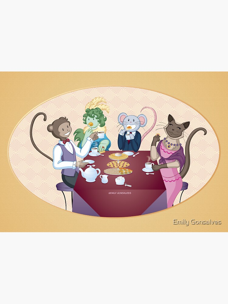 Animal Tea Party by emilygonsalves