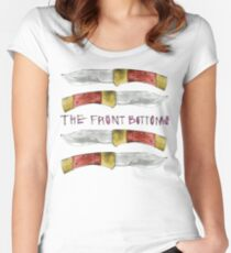 Talon of the Hawk - The Front Bottoms  Women's Fitted Scoop T-Shirt