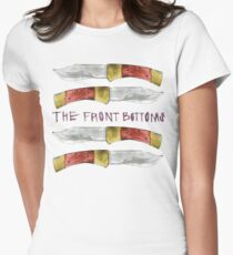 Talon of the Hawk - The Front Bottoms  Women's Fitted T-Shirt