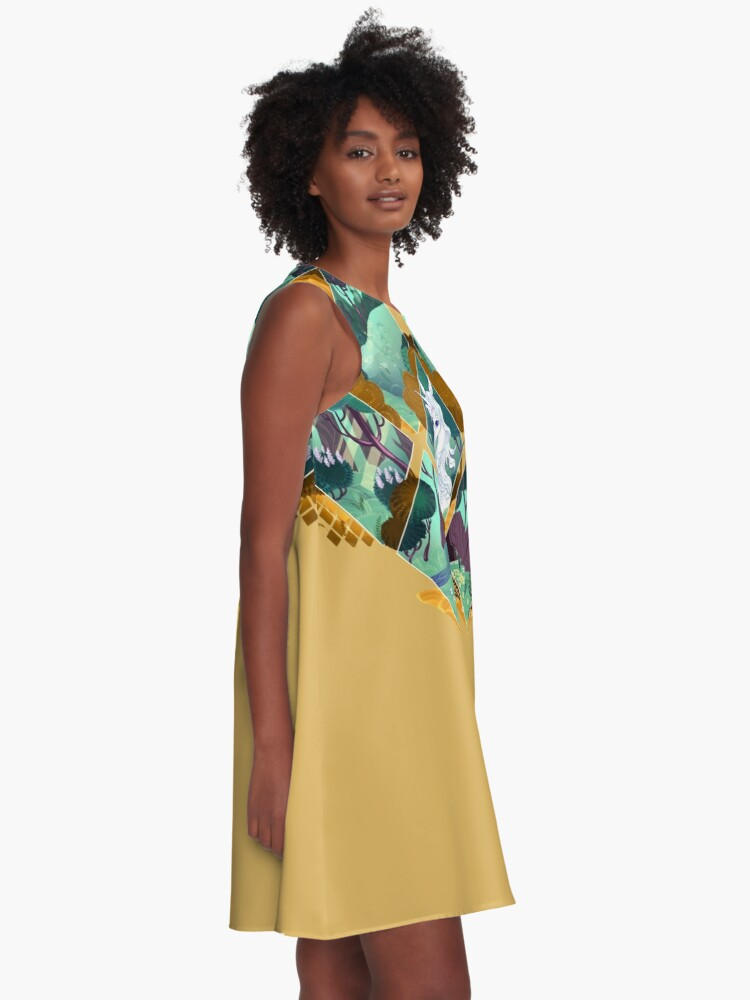 Alternate view of I Know You A-Line Dress