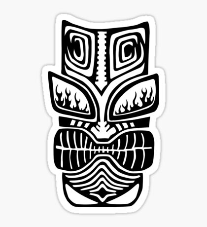 Grumpy Tiki Sticker
