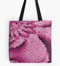 Pink Confetti - Psychedelic Digital Art Tote Bag