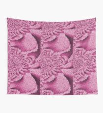Pink Confetti - Psychedelic Digital Art Wall Tapestry