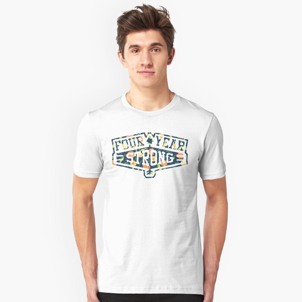 Four Year Strong logo 1 Unisex T-Shirt Front