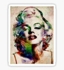 Marilyn Monroe Urban Art Sticker
