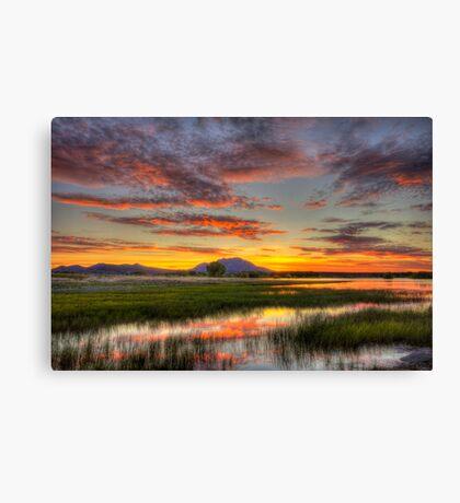 Yada, Yada, Sunset Canvas Print