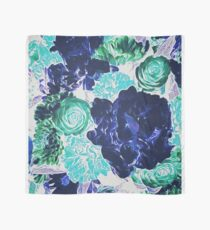 Bouquet in Blue - Floral Art - Flower Lovers Gift Scarf