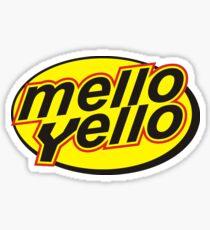 Mello Yello, the T-Shirt Sticker