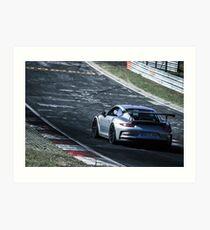 Lámina artística Porsche GT3.RS (991) en Nürburgring Nordschleife