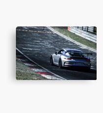 Porsche GT3.RS (991) on the Nürburgring Nordschleife Canvas Print