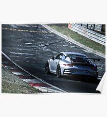 Porsche GT3.RS (991) on the Nürburgring Nordschleife Poster