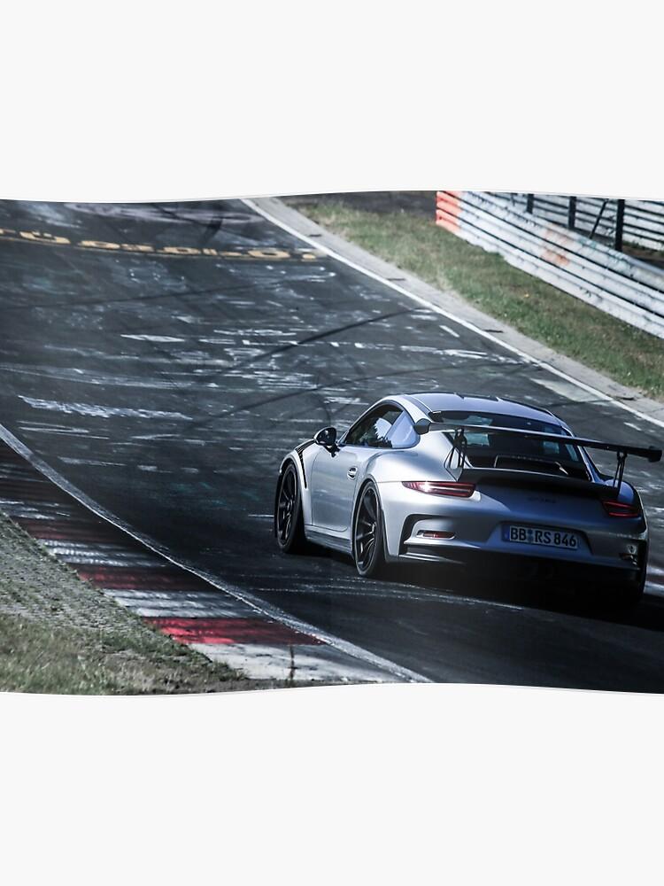 Porsche GT3.RS (991) on the Nürburgring Nordschleife