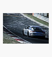 Porsche GT3.RS (991) on the Nürburgring Nordschleife Photographic Print