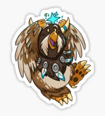 Moonkin Tauren Druid Sticker Sticker