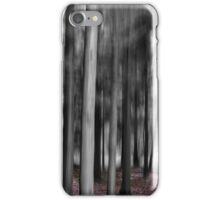 Forest Motion Blur Abstract iPhone Case/Skin