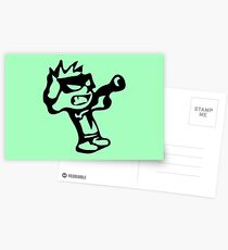 Spiff's Death Ray (Green) Postcards