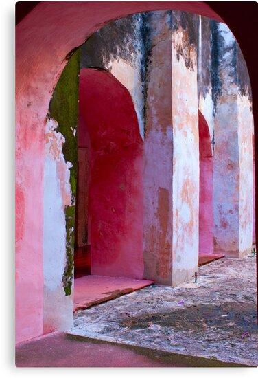 Valladolid Arcade by Zane Paxton