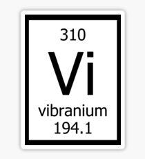 Vibranium Sticker