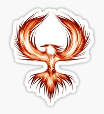 The Mythical Phoenix (flame) Sticker