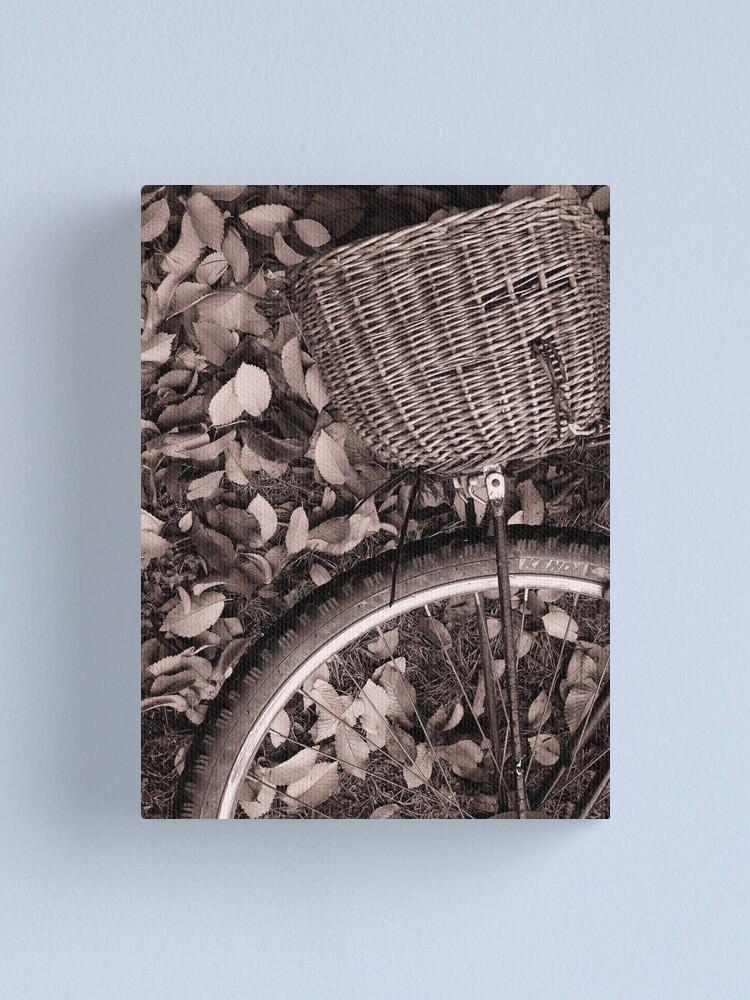 Alternate view of Basket Case Canvas Print