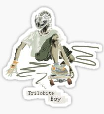 Trilobite Boy sk8 Sticker