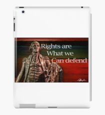 Rights iPad Case/Skin