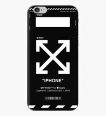 SCHWARZES WEISSES IPHONE FALL iPhone-Hülle & Cover