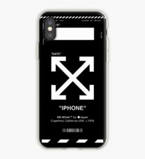 BLACK OFF-WHITE IPHONE CASE iPhone Case