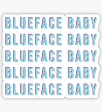 blueface baby Sticker