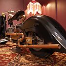 """""""The Abyss Rider for the Final Ride"""" built by Mark Walker. Aust. by Antipodean Tynker"""