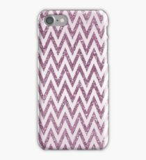 Pink Glittery Chevron Ombre iPhone Case/Skin
