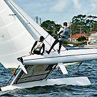 High School Kinder im Wettbewerb - Segelrennen. von sunnypicsoz