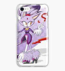 Precious Purple Pyro Princess iPhone Case/Skin
