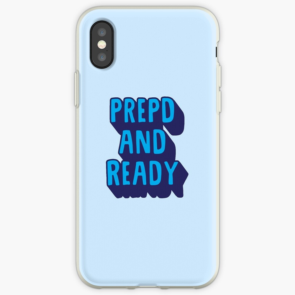 PrEP'D and Ready iPhone Cases & Covers
