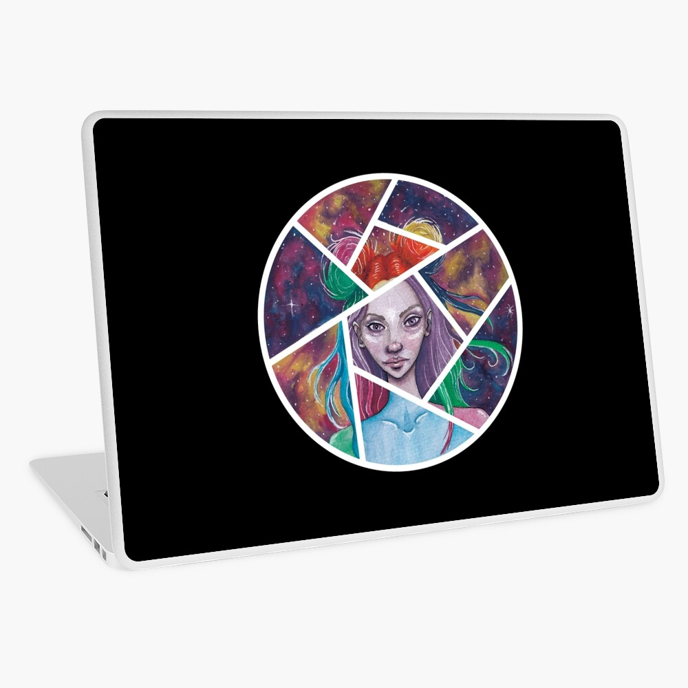 Fraktur Laptop Folie