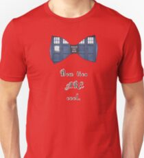 """Bow Ties ARE Cool."" - Dr. Who (image + quote) T-Shirt"