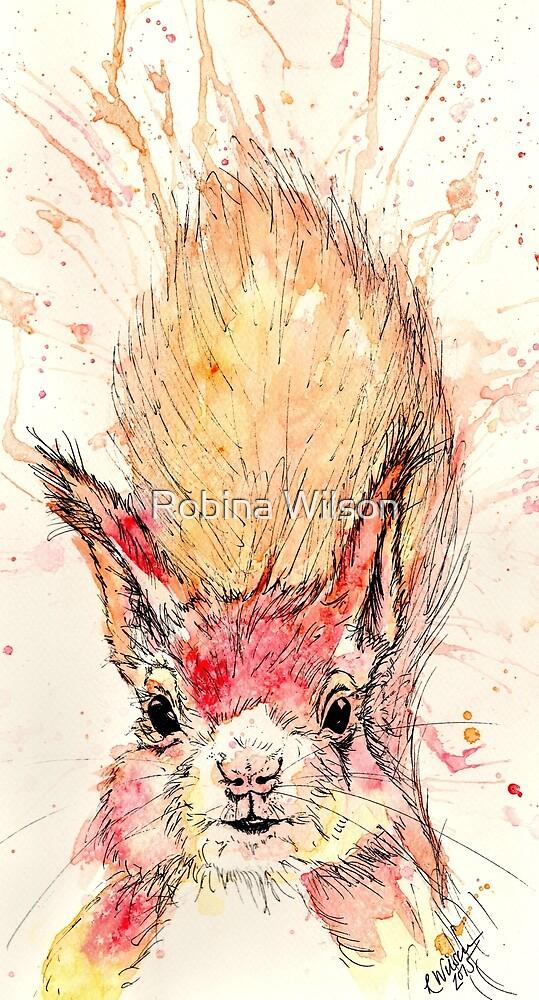 Hazel Squirrel by Robina Wilson