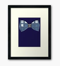 """""""Bow Ties ARE Cool."""" - Dr. Who (Bow tie image only) Framed Print"""