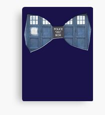 """""""Bow Ties ARE Cool."""" - Dr. Who (Bow tie image only) Canvas Print"""