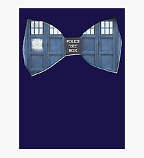 """Bow Ties ARE Cool."" - Dr. Who (Bow tie image only) Photographic Print"