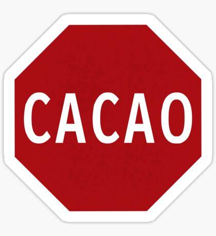 Cacao! Sticker