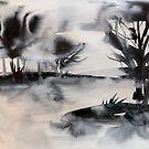 monochrome Landschaft von Marianna Tankelevich