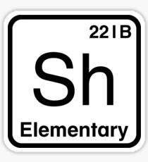 The Atomic Symbol for Detection  Sticker