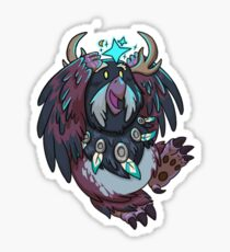 Night Elf Moonkin Druid Sticker Sticker