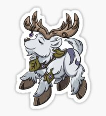 Night Elf Travel Form Sticker Sticker