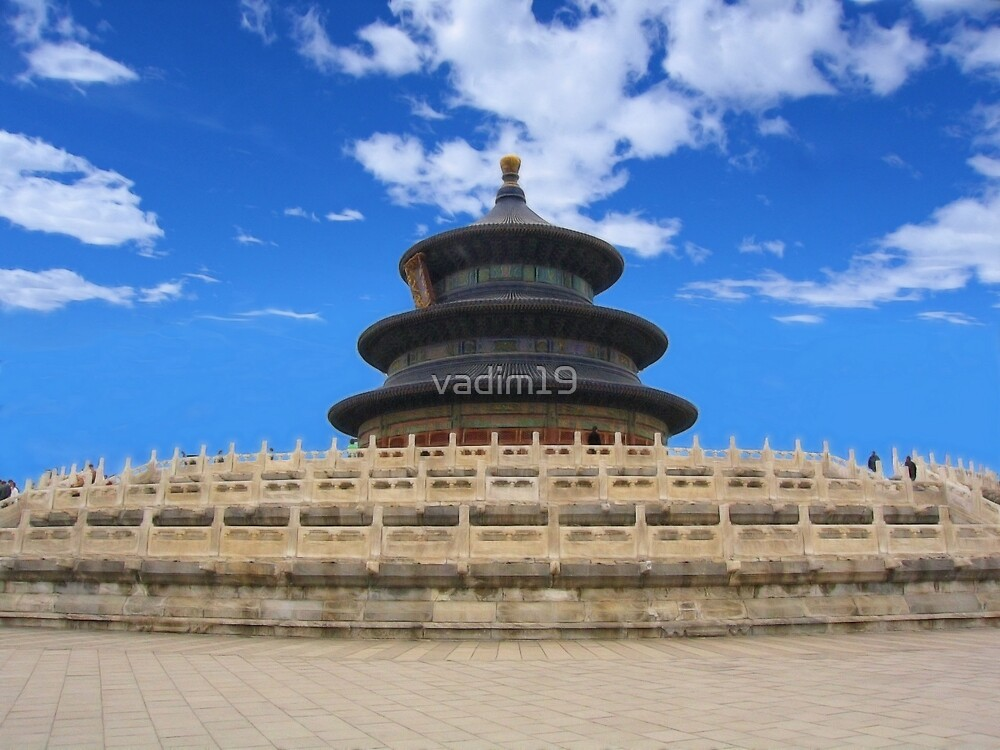 Temple of Heaven, Beijing, China by vadim19